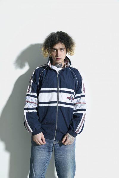 Mens vintage jacket white
