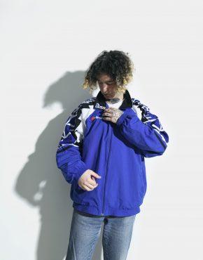 Vintage blue jacket mens