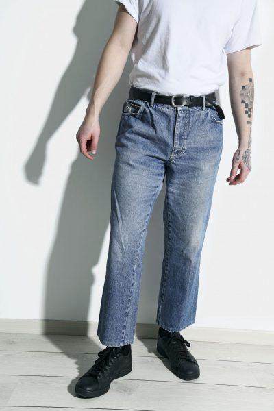 Mens vintage straight jeans