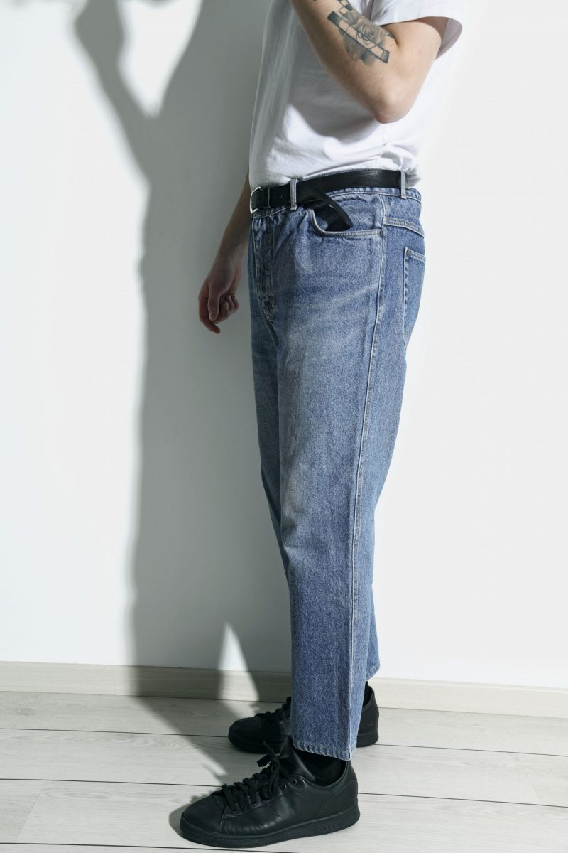 Mens vintage 80s straight jeans
