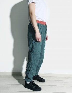 Vintage 80s green joggers