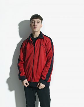 Vintage red classic jacket