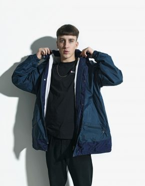 jacket retro windbreaker mens