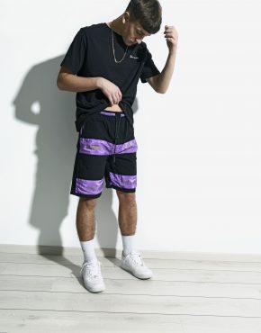 Vintage purple board shorts