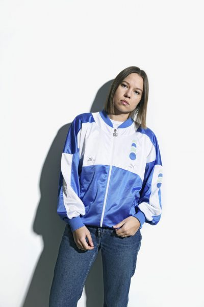 PUMA 80s blue jacket