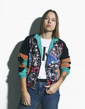 90s multi vintage jacket