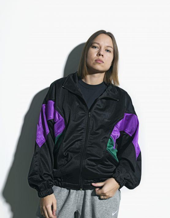 Vintage jacket black multi