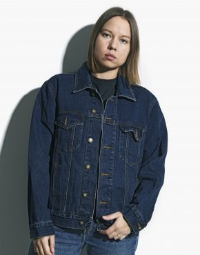 Denim jacket unisex vintage