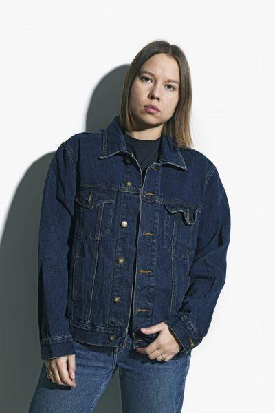 Denim jacket unisex vintage