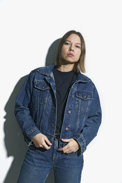 80s denim jacket unisex
