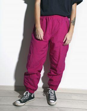 Retro pink ski pants