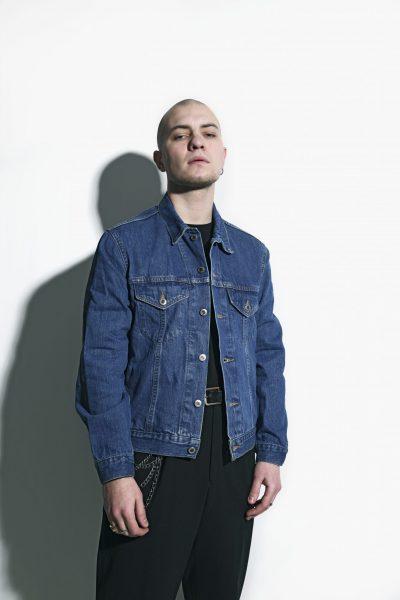 Vintage jacket denim men