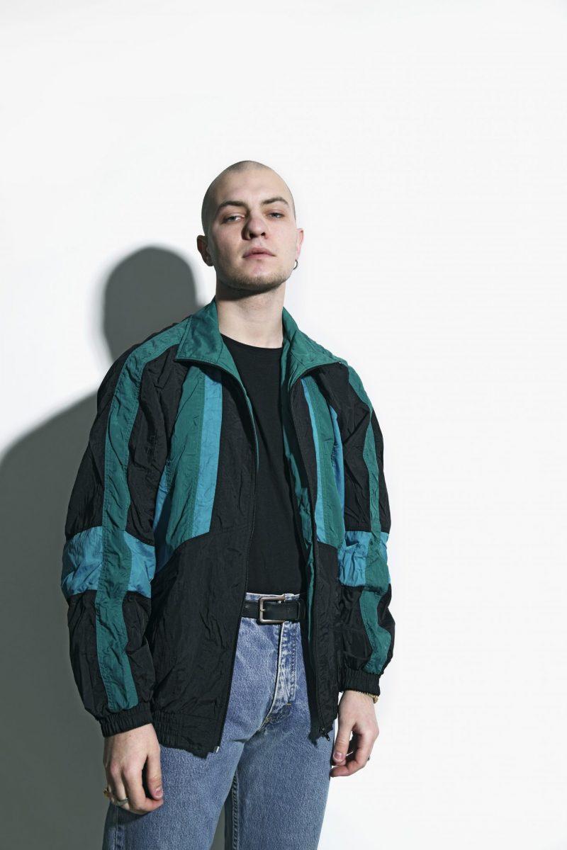 nylon jacket mens 80s