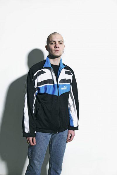 PUMA 80s jacket black
