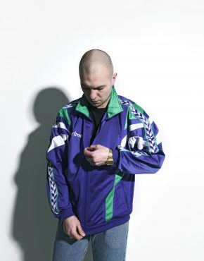 80s track jacket men