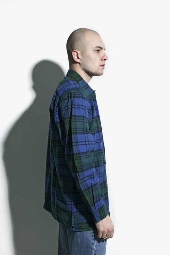 Vintage 90s flannel plaid shirt