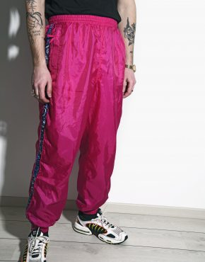 Vintage 80s joggers pink