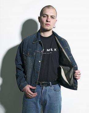 Vintage men denim jacket