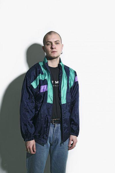 80s multi colour jacket