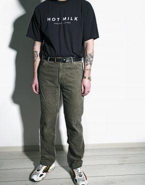 Vintage velvet trousers brown