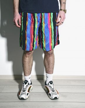 Vintage colourful shorts mens