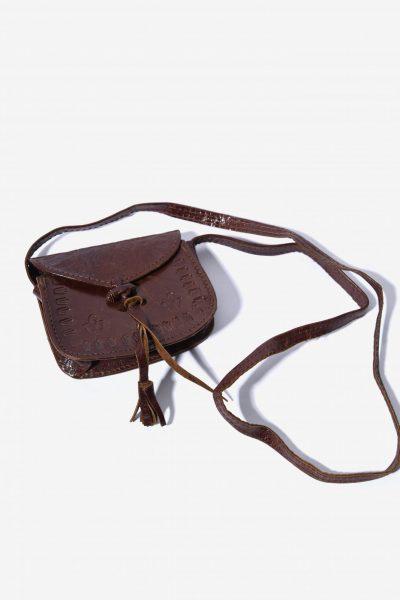 Vintage Brown Leather Bag