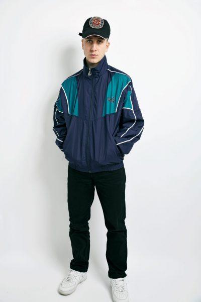 PUMA 90s blue jacket