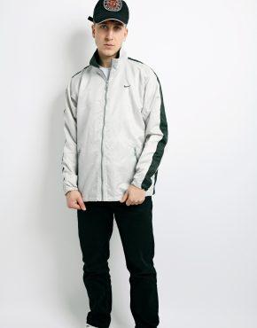NIKE vintage silver jacket