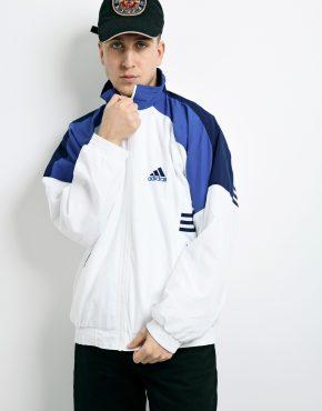 ADIDAS windbreaker white jacket