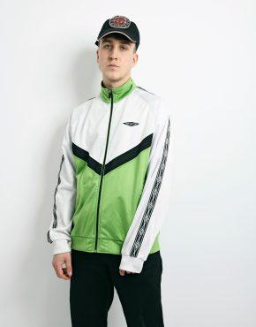 Vintage UMBRO green jacket
