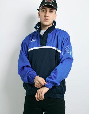 ASICS vintage pullover blue
