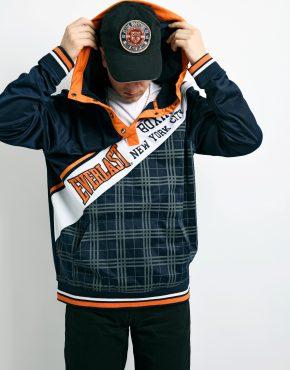 EVERLAST vintage hooded jacket