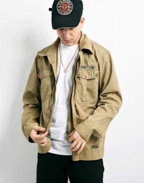 FILA vintage workwear jacket