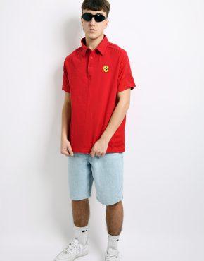 Vintage Ferrari polo shirt
