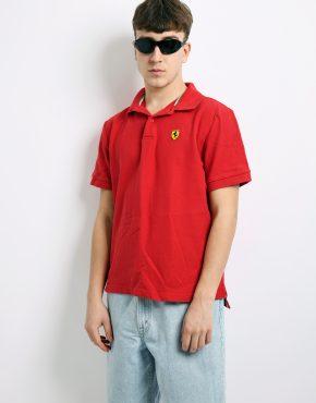 Ferrari polo shirt vintage