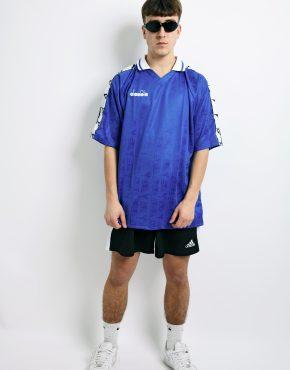 DIADORA soccer blue shirt