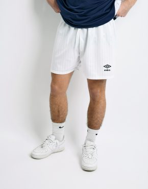 Umbro vintage white shorts