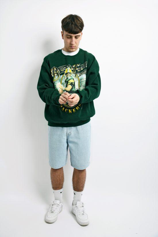 Vintage Brett Favre Country Green sweatshirt