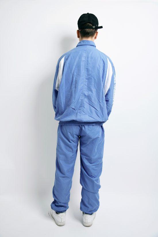 Sport vintage tracksuit Elefanti sky blue