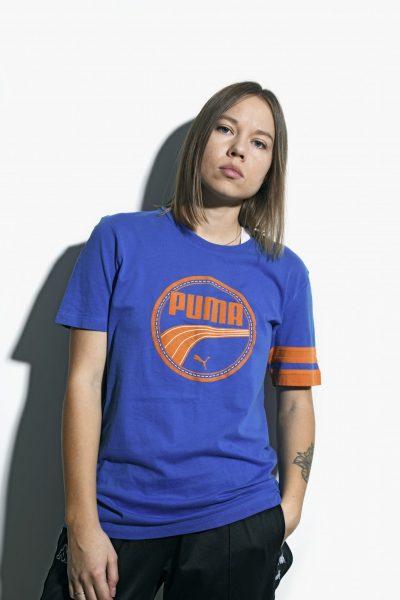 PUMA blue vintage t-shirt