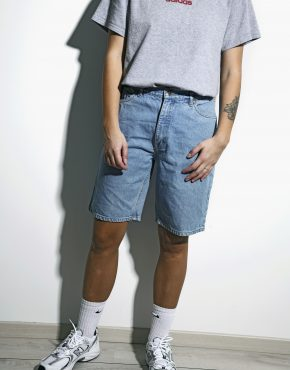 Skater unisex denim shorts