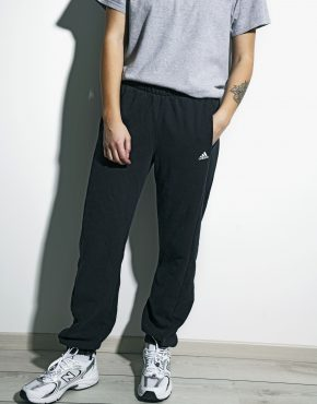 Adidas sweatpants black vintage
