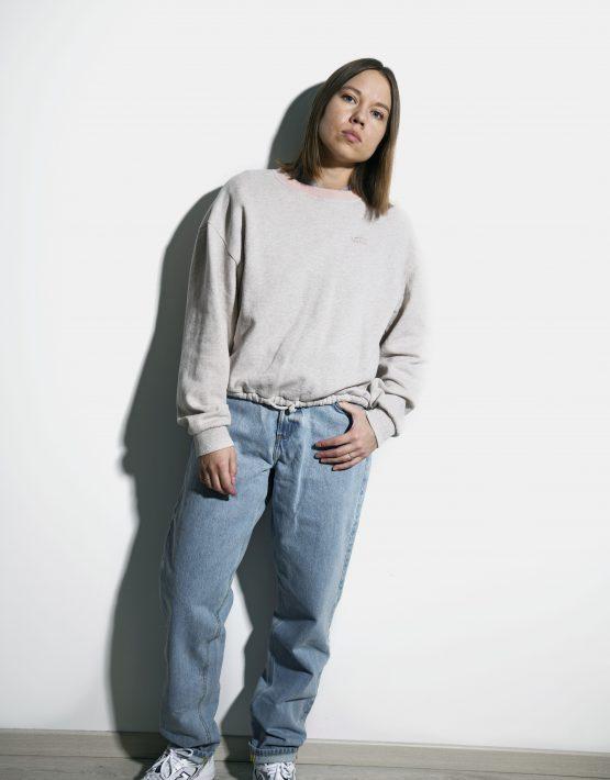 VANS vintage sweatshirt beige