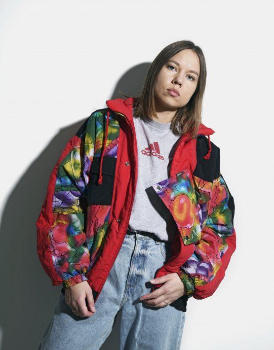 90s retro ski jacket
