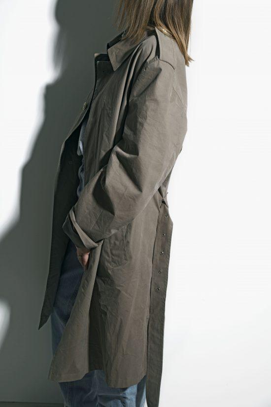 Classic vintage trench coat unisex