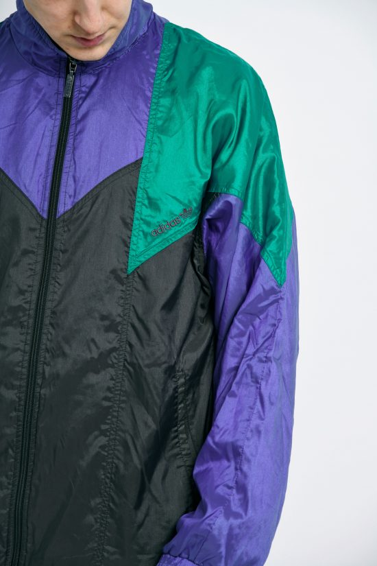 Vintage ADIDAS jacket zip top