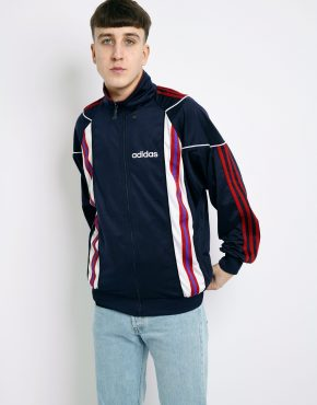 ADIDAS retro blue jacket