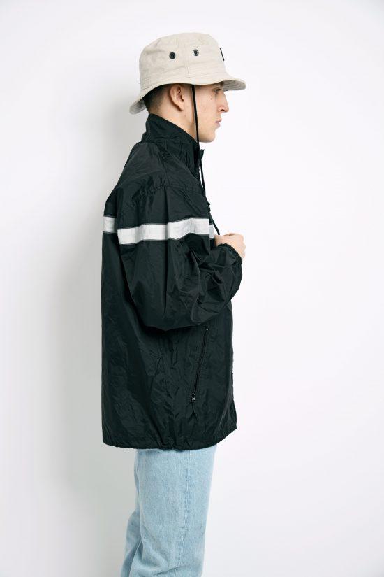NIKE vintage black shell jacket unisex