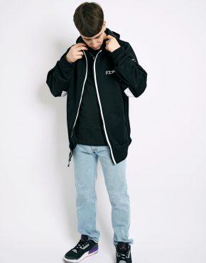 Vintage Reebok black hoodie