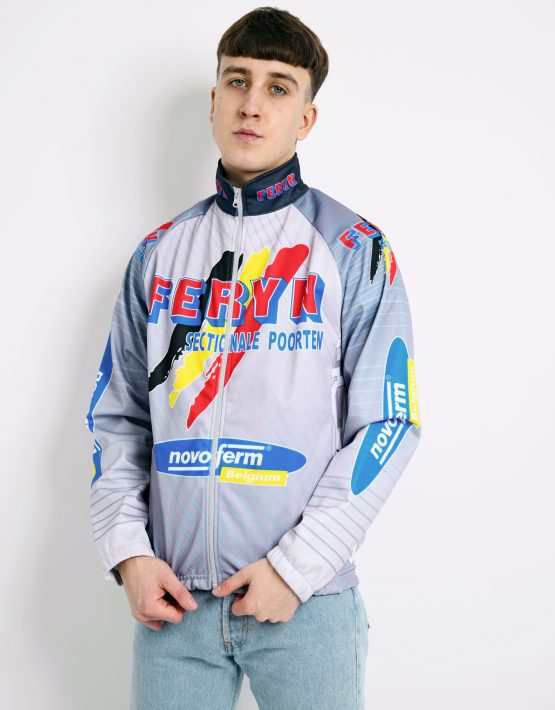 90s vintage cycling jacket